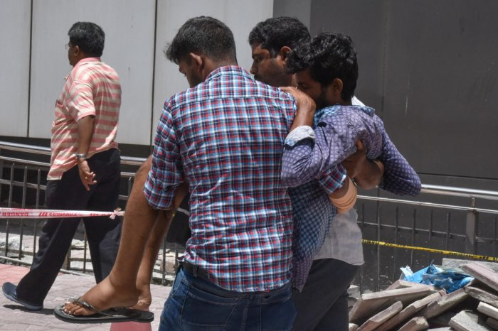 Patients are put to hardship after doctors and medical staff belonging to the Rajya Vokkaligara employees association boycotted work at the OPD of the Kempegowda Institute of Medical Sciences. DH PHOTO/S K Dinesh