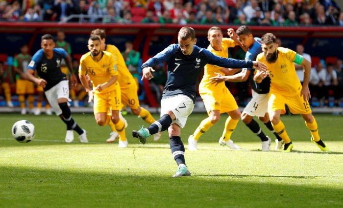 Image result for france goal vs australia