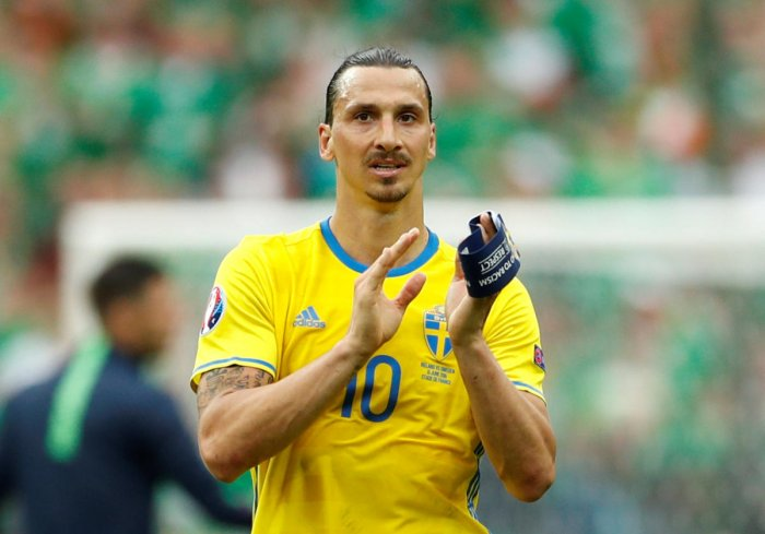 Unfazed by the absence of their greatest player Zlatan Ibrahimovic, Swedish fans believe the team may be more cohesive without him and could start the World Cup with a bang. Reuters file photo