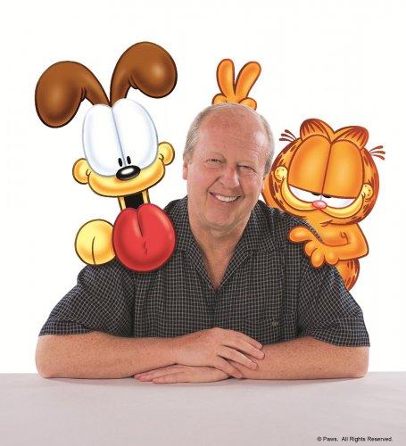 Jim Davis, creator of the Garfield comic strip