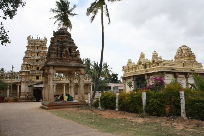 A view of Kaivalyadevi Temple in Kalale. PHOTO BY AUTHOR