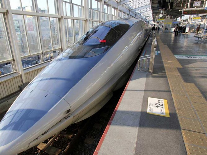 The bullet train project is projected to reduce the travel time from Mumbai to Ahmedabad to 3 hours from the current 7. Representative image.