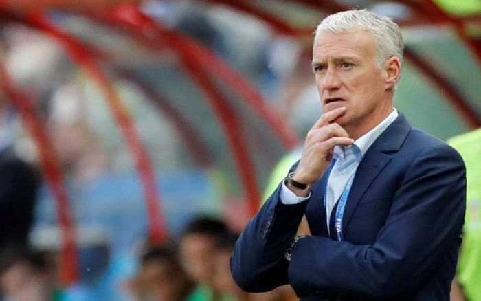 France coach Didier Deschamps. (Reuters)