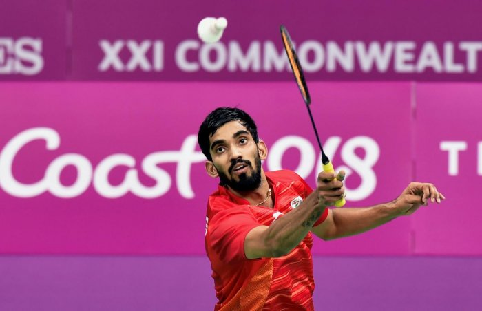India's Srikanth Kidambi aims to clinch gold in the upcoming Asian Games. (PTI file photo)