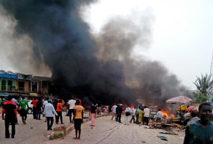 Suspected Boko Haram jihadists killed at least 31 people in a twin suicide bomb attack on a town in northeast Nigeria, a local official and militia leader told AFP on Sunday. File photo for representation only