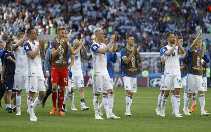 The resilient islanders showed their iron will once again, coming back from a goal down to draw 1-1 with an Argentina side led by Lionel Messi and teeming with household names. (AP/PTI Photo)