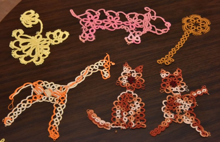 From tatting to nail art to cross stitched wall hangings — Mallika does it all.