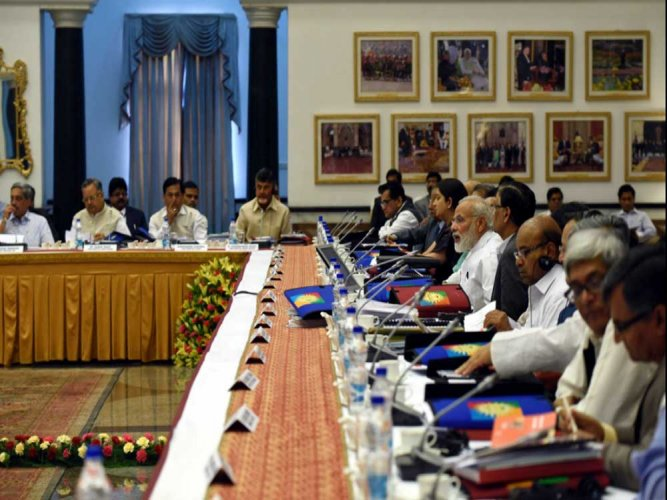The development agenda for 'New India 2022' is also expected to be approved in the meeting, according to it. File photo. Source: Twitter