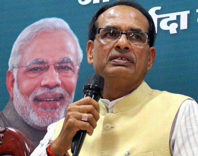 In picture: Madhya Pradesh Chief Minister Shivraj Singh Chouhan. PTI photo.
