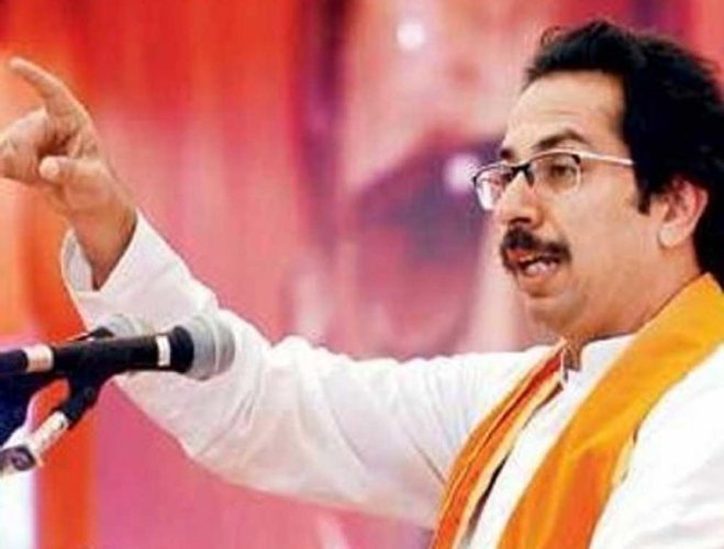 Shiv Sena chief Uddhav Thackeray. (pic @uddhavthackeray)