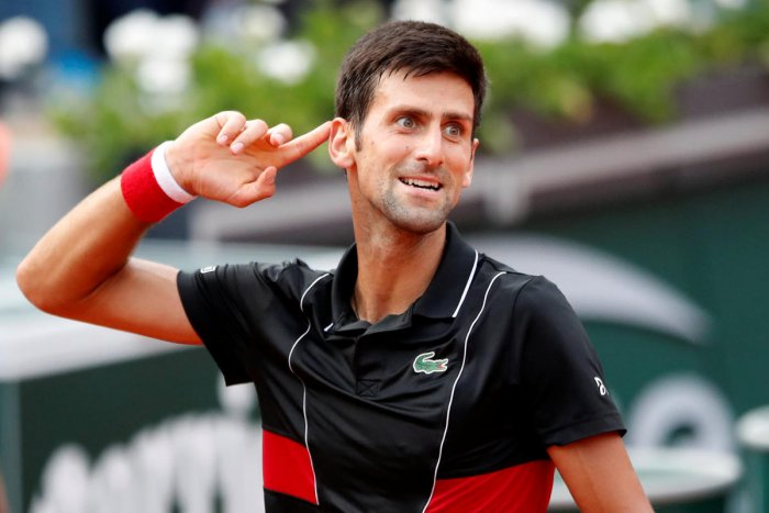 Serbia's Novak Djokovic is relishing his country's return to football World Cup. (Reuters)