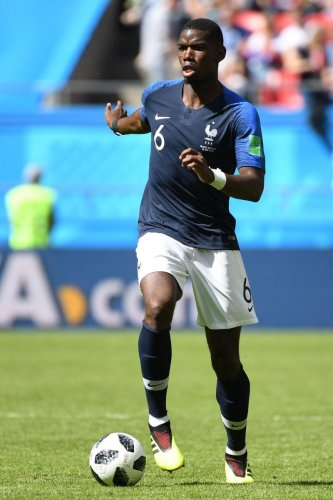 IN THE SPOTLIGHT Although Paul Pogba scored the winner against Australia, his overall performance was average and questions linger over his selection. AFP