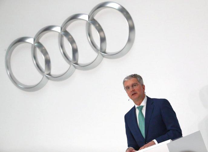 Audi CEO Rupert Stadler. Reuters Photo