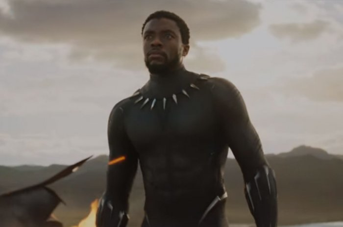 A scene from Black Panther
