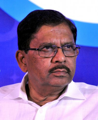Deputy Chief Minister G Parameshwara