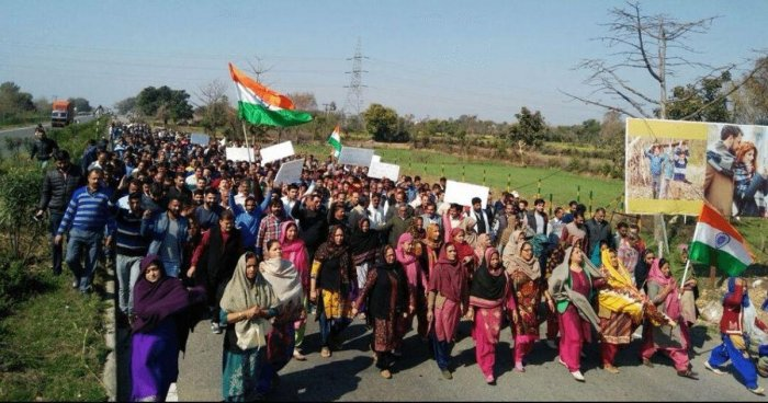 Kathua rally