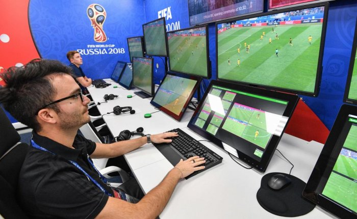 STARTING TROUBLES Many experts feel there is major inconsistency in the implementation of VAR, used for the first time in a World Cup this time. AFP