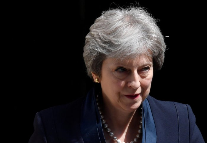 Britain's Prime Minister Theresa May. Reuters file photo