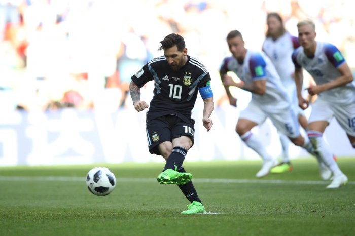 Argentina's Lionel Messi is under huge pressure to deliver in their next game against Croatia. Reuters