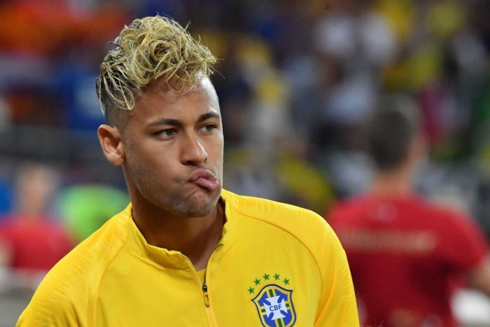 POOR START: Brazil's Neymar had a forgettable outing against Switzerland. AFP