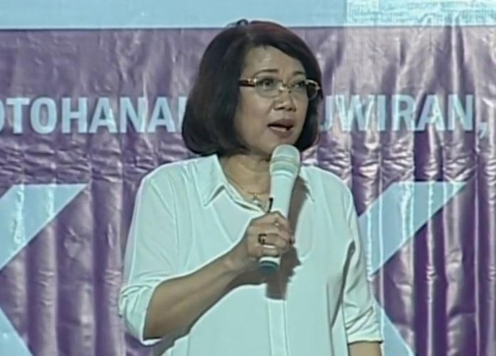 Maria Lourdes Sereno, Screen grab