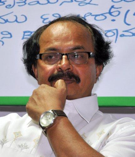Film Director Nagathihalli Chandrashekhar.-Photo/ M S MANJUNATHnagathihalli
