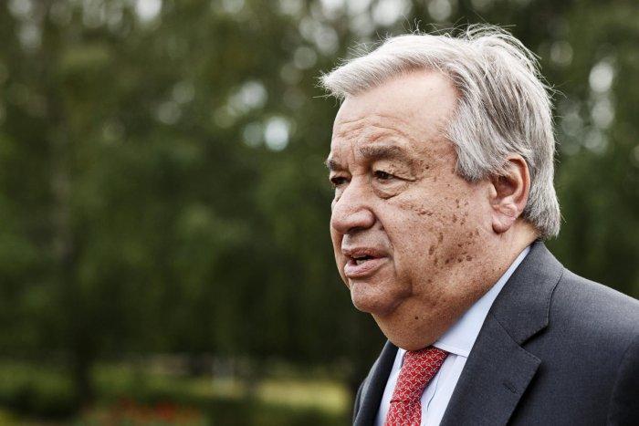 UN chief Antonio Guterres. (Reuters file photo)