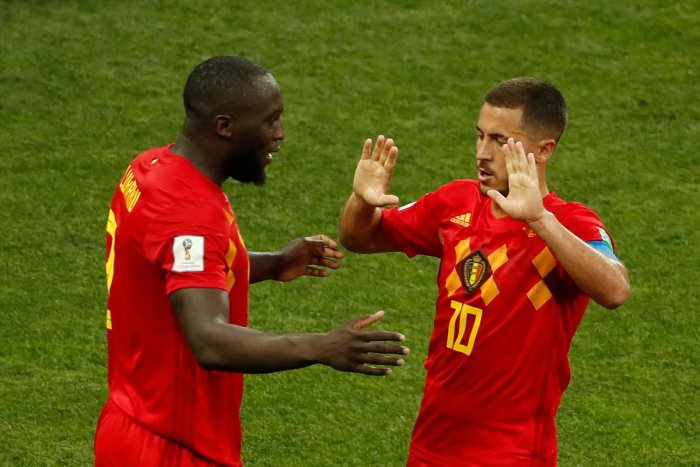 Belgium captain Eden Hazard's half-time talk ignited the hunger in Romelu Lukaku, who went on to score two goals against Panama. AFP
