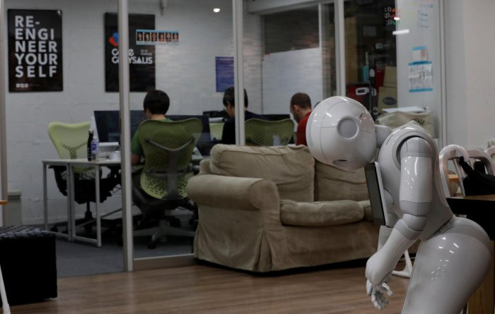 By monitoring brain activity, the system can detect in real time if a person notices an error as a robot does a task. (Reuters file photo for representation)
