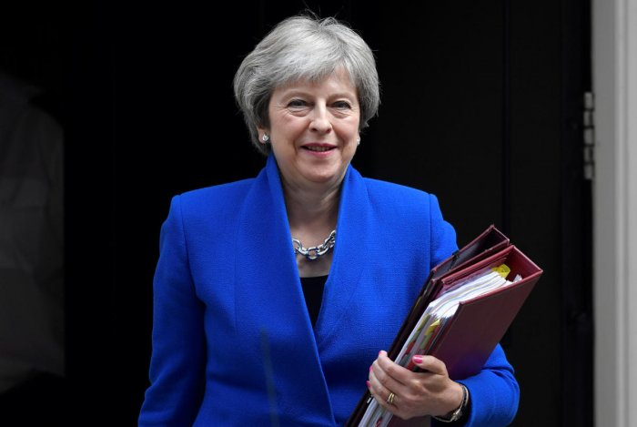 Britain's Prime Minister Theresa May. Reuters photo