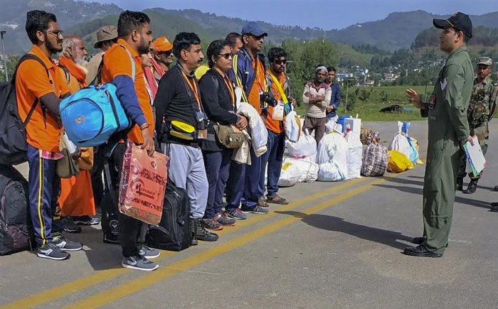 This is also the first batch of yatris though the Nathu-La route after the pilgrimage was stopped following the Dokalam standoff last year. India and China had agreed in April to resume the Kailash Mansarovar Yatra through the route. PTI