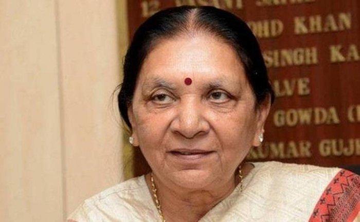 Madhya Pradesh Governor Anandiben Patel. file photo