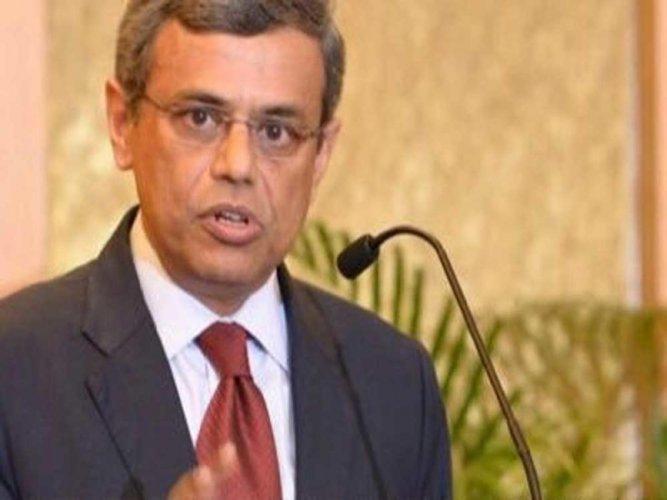 Indian High Commissioner Jawed Ashraf, image courtesy Twitter