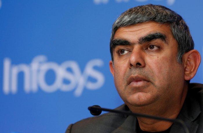 Vishal Sikka. Reuters file photo