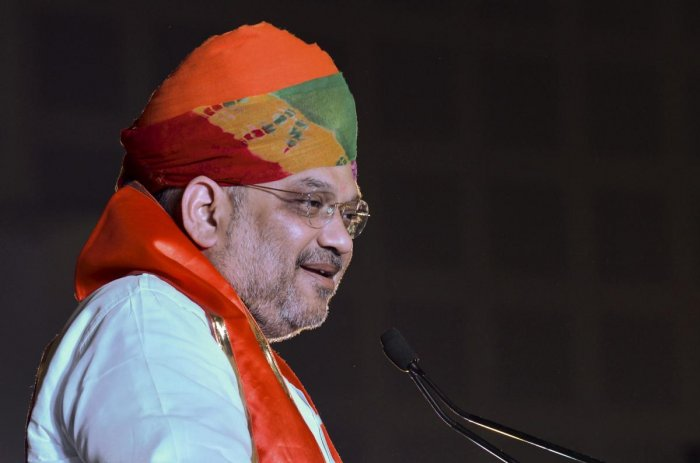 Amit Shah is the director of Ahmedabad District Cooperative Bank. PTI file photo