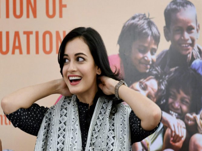 In picture: Bollywood actor Dia Mirza. PTI file photo.