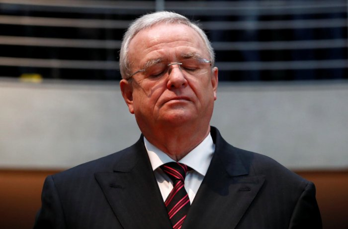 Former Volkswagen chief executive Martin Winterkorn arrives to testify to a German parliamentary committee on the carmaker's emissions scandal in Berlin, Germany. (Reuters File Photo)