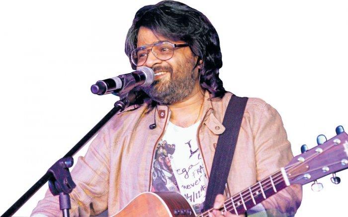 "Music composer Pritam Chakraborty resurrected Dadasaheb Phalke's classic ""Raja Harishchandra"" with his soulful and riveting live music at the IIFA Rocks. DH file photo"