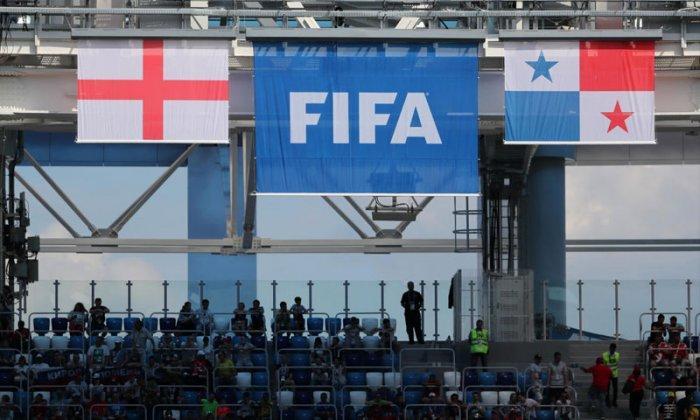 Soccer Football - World Cup - Group G - England vs Panama - Nizhny Novgorod Stadium, Nizhny Novgorod, Russia - June 24, 2018 General view inside the stadium before the match REUTERS