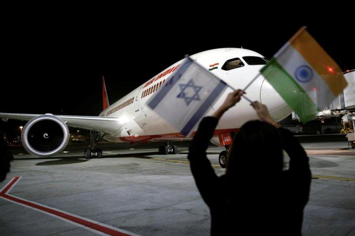 An Air India Boeing 787-8 Dreamliner plane lands at the Ben Gurion International airport in Lod, near Tel Aviv, Israel, March 22, 2018. REUTERS/Amir Cohen