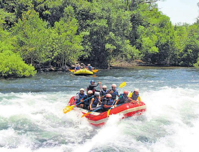 The major attraction this year will be shooting a personalised video of rafting that can be shared on various social media platforms. DH file photo.