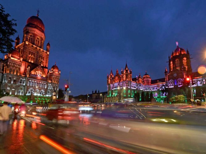 "In India, a collection of Victorian and Art Deco landmarks in bustling Mumbai is being billed as ""the largest such conglomeration of these two genres of architecture in the world"". (PTI file photo)"