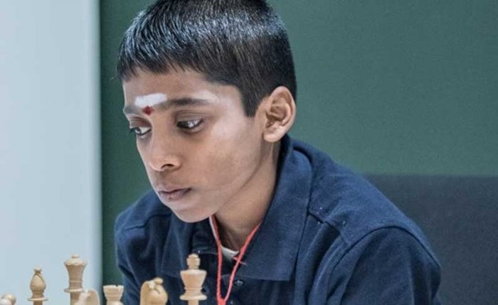 In 2016, Praggnanandhaa became the youngest International Master at the age of 10 years, 10 months and 19 days.