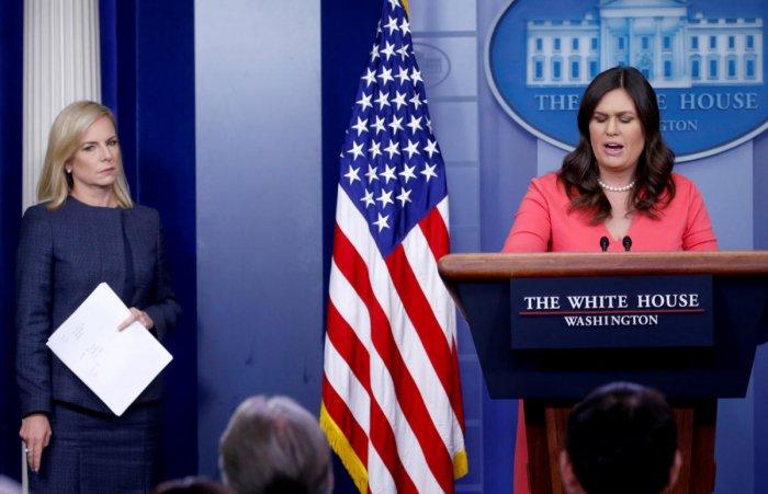 Sarah Sanders. Reuters file photo,