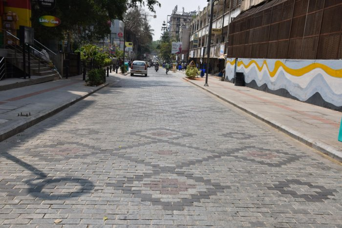DH file photo of Church Street after it was revamped under the TenderSURE programme.