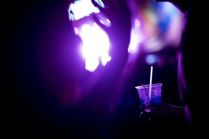 Revellers drink alcohol in a Music Festival in Dover. Reuters file photo
