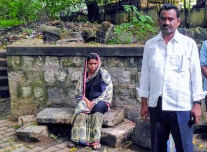 Accused Parashuram Waghmore's mother Janaki Bai and father Ashok Waghmore.