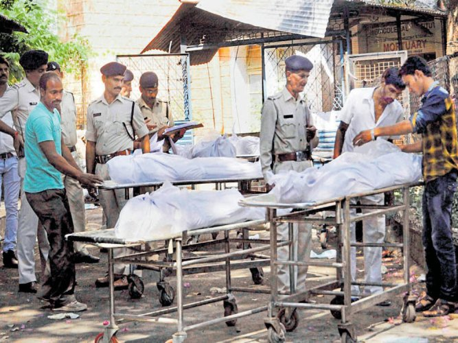Eight members of the Students Islamic Movement of India (SIMI), who had escaped from the Bhopal Central Jail in October 2016, were shot dead by the police. PTI file photos
