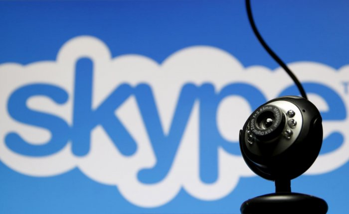 A techie will teach Kannada to interested people through Skype.