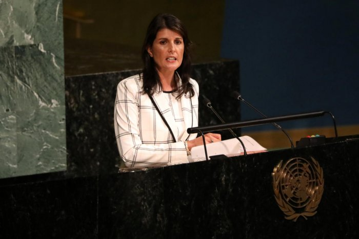 US Ambassador to the United Nations Nikki Haley. Reuters Photo